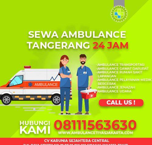 sewa ambulance tangerang
