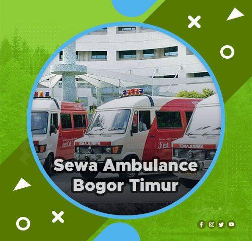 ambulance bogor timur