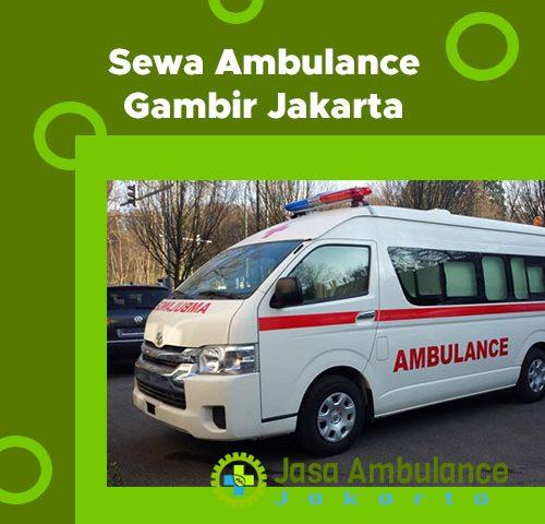 ambulance gambir jakarta