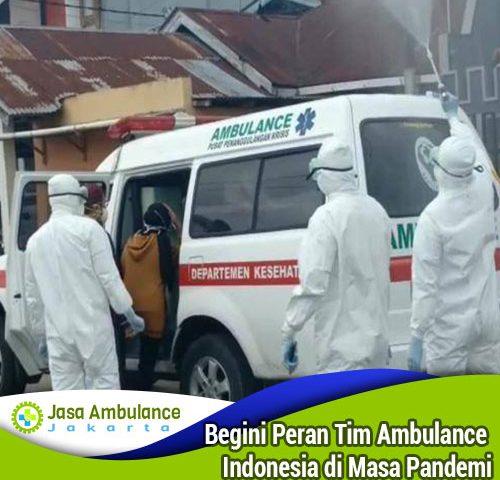 peran ambulance indonesia