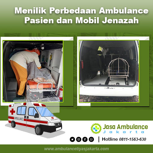 perbedaan ambulance pasien dan mobil jenazah
